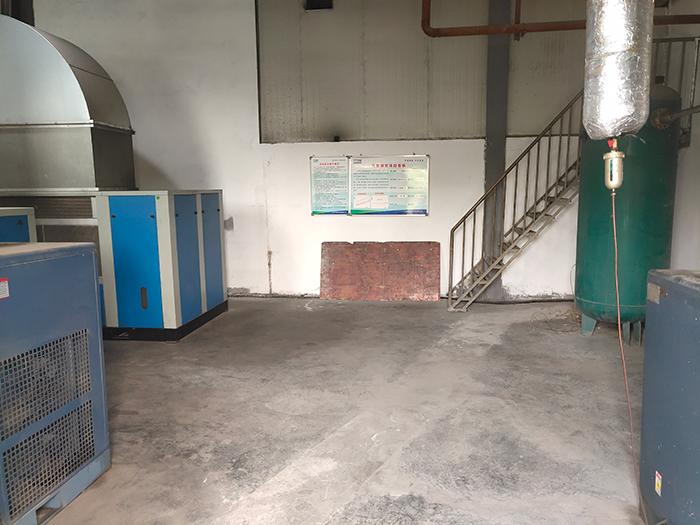 上海某电器元件公司使用斯可络压缩机空气系统