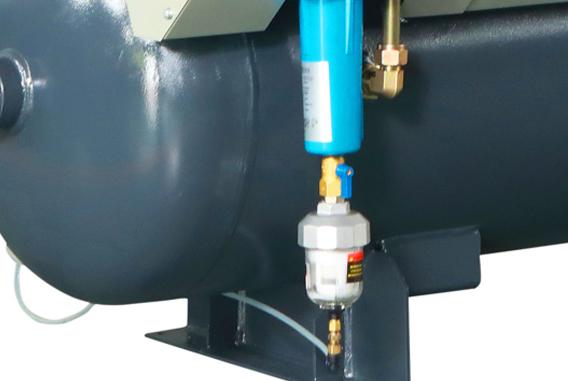 激光切割专用永磁变频空压机CPM-高精密三重过滤装置
