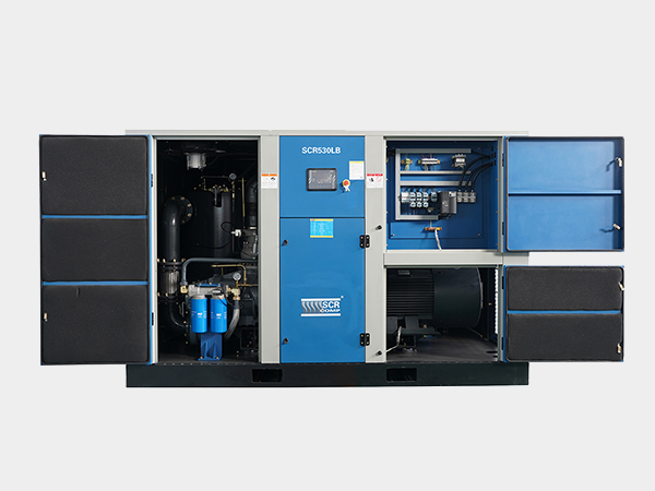 低压永磁变频双螺杆空气压缩机SCR530LB