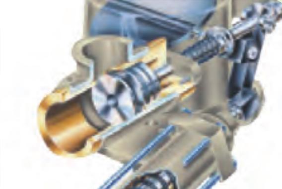 干式无油双螺杆空气压缩机SCR100G-高能效进气阀