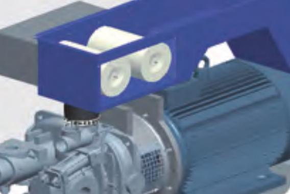 干式无油双螺杆空气压缩机SCR100G-消音箱