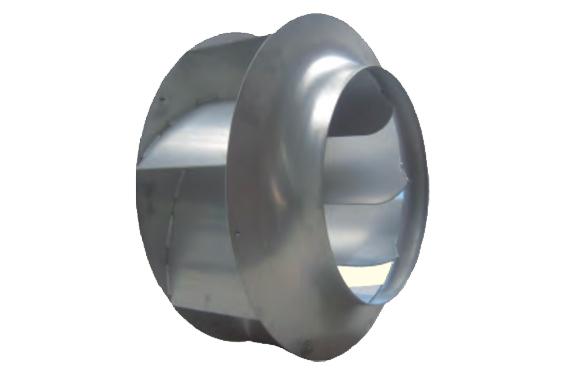 干式无油双螺杆空气压缩机SCR100G-新型离心风扇