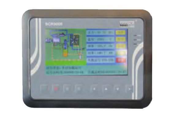 无油涡旋式空气压缩机SCR20XA-触摸式智能控制器