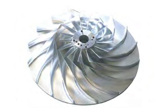 磁悬浮离心式鼓风机SCR75CB-三元流叶轮