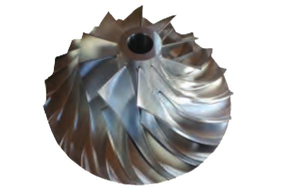 空气悬浮离心鼓风机SCR75KB-高精密叶轮