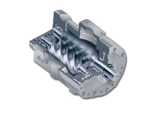 直联双螺杆DV系列-德国高效率主机
