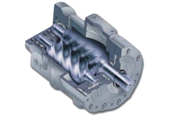 永磁变频双螺杆空压机-德国品牌机头