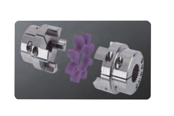 空压机-德国KTR梅花形夹紧式联轴器