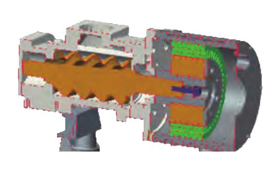 特别的双层液冷永磁变频专用电机