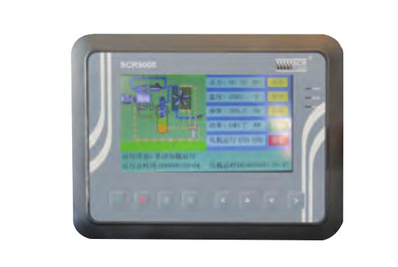 第五代超能永磁变频双螺杆空气压缩机-触摸式智能控制器