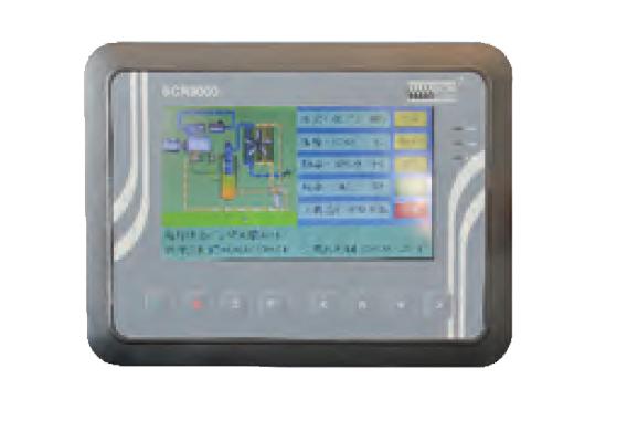 低压永磁变频双螺杆空气压缩机LBPM-低压专用触摸式智能控制器