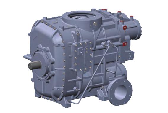 两级压缩螺杆空气压缩机-高能效主机