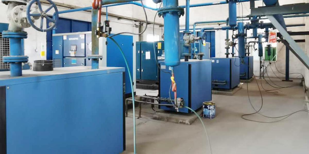 SCR节能空压机EPM2中标山西某光伏玻璃企业空压机项目