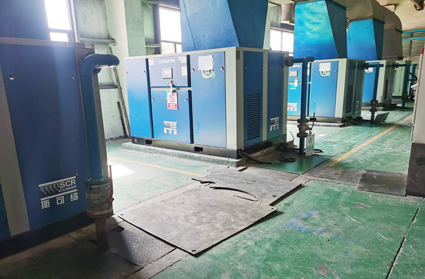 SCR超能永磁变频空压机EPM2助力山西某水泥企业