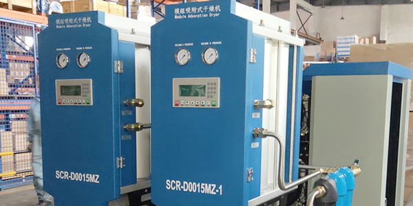 SCR15XA斯可络无油涡旋空压机应用在外科医院