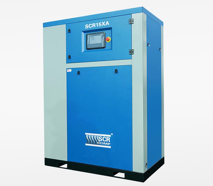 SCR15XA无油涡旋空压机应用在乳业企业